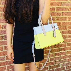 Kate Spade Eva Satchel Crossbody top zip bag